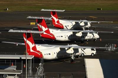 澳洲航空取消所有國際航班 恐停飛到2021年3月