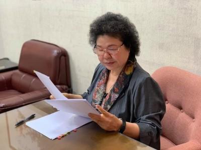 國民黨佔主席台無法開會 陳菊無奈在臉書PO立院報告全文