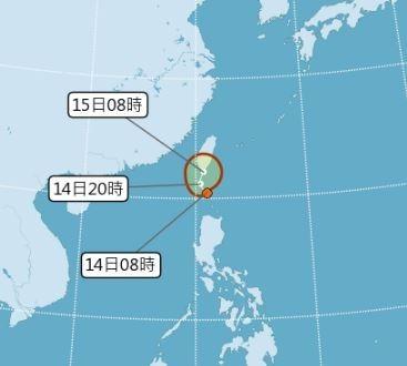 熱帶性低氣壓生成 今明影響台灣東南部