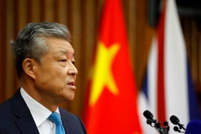中國駐英大使劉曉明:兩國關係正處於重要關口