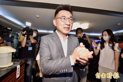 國民黨主席江啟臣將購領三倍券 訂購弱勢團體商品