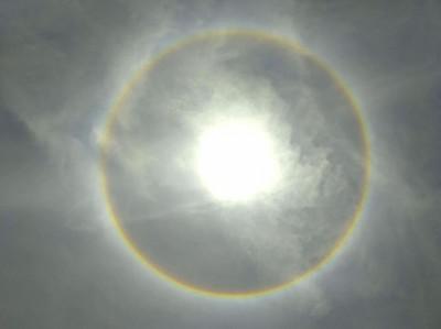 絕美「幻日環」奇景出現!氣象局:今天全台都有機會看到