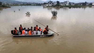 長江流域洪災持續 中國北方又將迎來強降雨