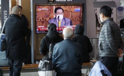 武漢肺炎》南韓新增45例  本土群聚感染影響遠超境外移入