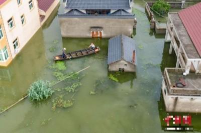 洪水襲中國!長江、黃河、淮河齊發洪水警報