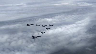軍情動態》飛越7000公里 5架飆風戰機飛抵印度準備抗中