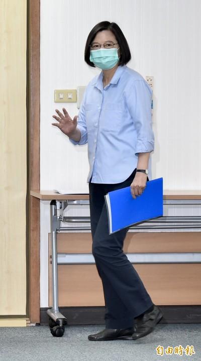 蔡英文:為李前總統祈福  持續關心他的健康