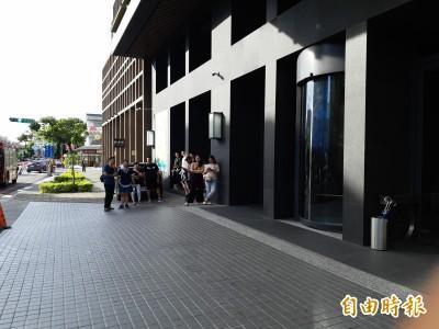 台東市鬧區GAYA飯店10樓餐廳起火 一度緊急疏散