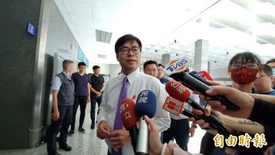 高市長補選政見會》 陳其邁說參選「像極了愛情」 盼為心愛家鄉服務