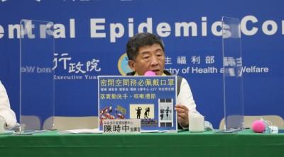 武漢肺炎》隔離期滿再採檢雙重確認? 陳時中:有考慮針對特別高風險地區