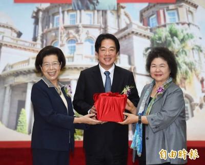 陳菊就任監察院長:誠惶誠恐 自知責任重大