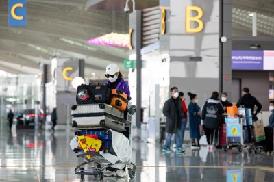 不怕?南韓解禁中國湖北 10日起取消旅客入境限制