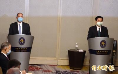 CNN專訪 吳釗燮:憂成下一個香港 台灣持續強化與美安全合作