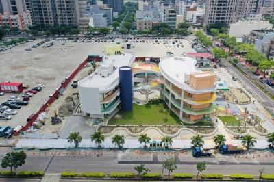 水圳、客家合院造型好美! 竹北嘉興、文興幼園可望成打卡亮點