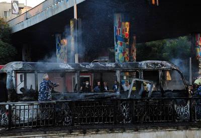 巴士遭襲14死3傷 敘利亞定調恐攻