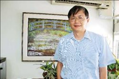 清華大學資工系教授林永隆。(記者洪美秀攝)