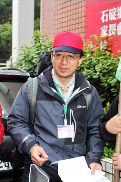 鍾兆晉獲得美國麻省理工學院最具影響力教師獎殊榮。(記者翁聿煌攝)