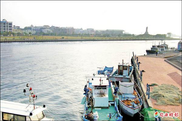 安平漁港保留安平港原名。(記者洪瑞琴攝)