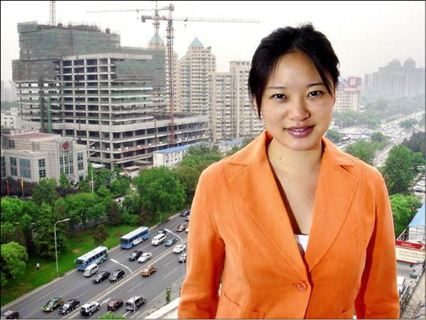 中國政府驅逐中東「半島電視台」英語頻道唯一一名駐北京記者陳嘉韻(Melissa Chan)。(歐新社)