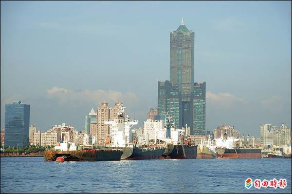 亞洲新灣區可望為高雄港注入新的產業生命。 (記者侯承旭攝)