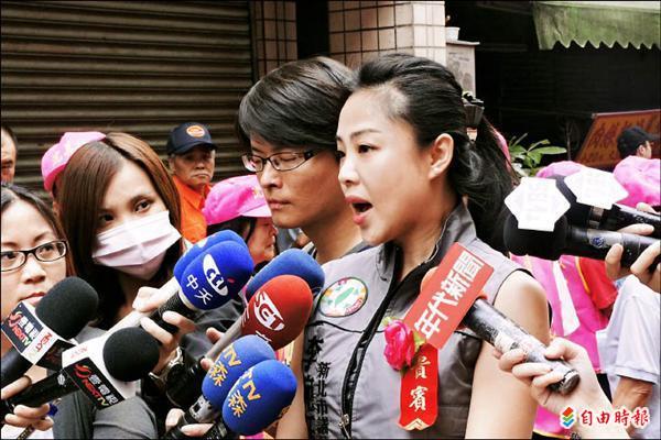 捲入酒店傷人風波的新北市議員李婉鈺被拍到進出酒店,她表示是因為員工聚餐,並不是外界所說的喬合約。(資料照,記者何玉華攝)