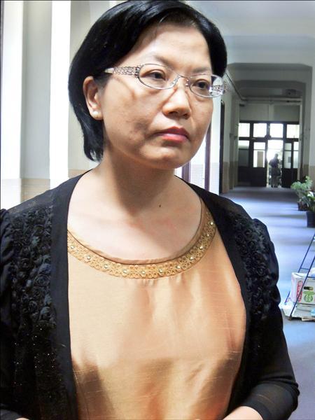黃世銘坦承也監聽高檢署檢察官林秀濤,林秀濤聽到後一臉錯愕地說:「我不知道耶!」(資料照)