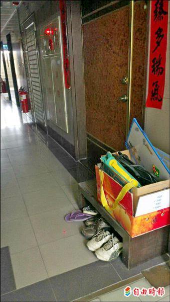[心得] 梯廳公用走道有鞋櫃的物件真心母湯
