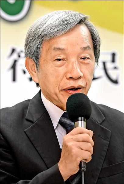前國史館館長張炎憲(資料照)