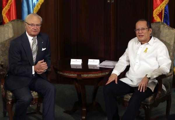 對於香港對菲律賓發出第一階段制裁,菲律賓總統艾奎諾三世(圖右)宣稱目前仍未有道歉的打算。(路透,資料照)
