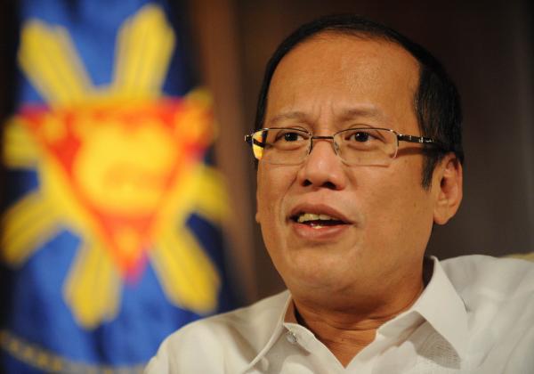 菲律賓總統艾奎諾三世以納粹德國比喻中國,遭媒體評為業餘政客。(法新社)