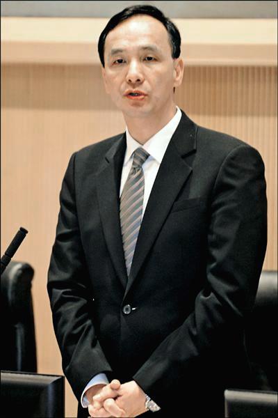 新北市長朱立倫(資料照)