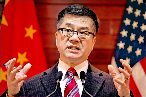 美國駐中國大使駱家輝。(路透)