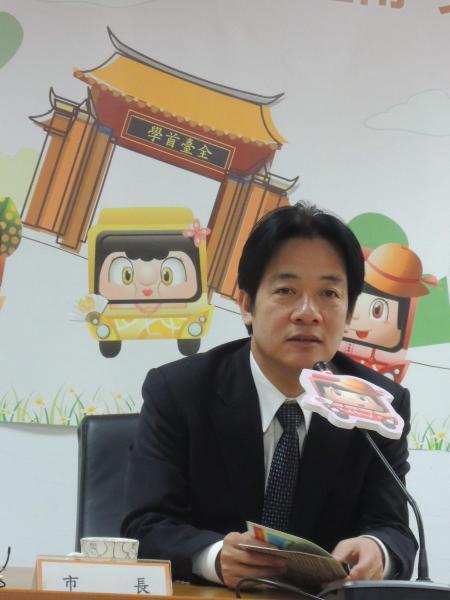 市長賴清德宣布3月13日為「台南市正義與勇氣紀念日」,紀念67年前的這一天,228烈士湯德章律師在民生綠園慷慨赴義,以表彰他一生英勇堅韌的台灣精神典範。(資料照)