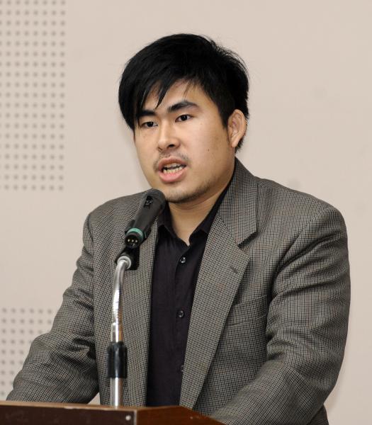 王炳忠今天在節目上被主持人當場修裡。(資料照,記者叢昌瑾攝)