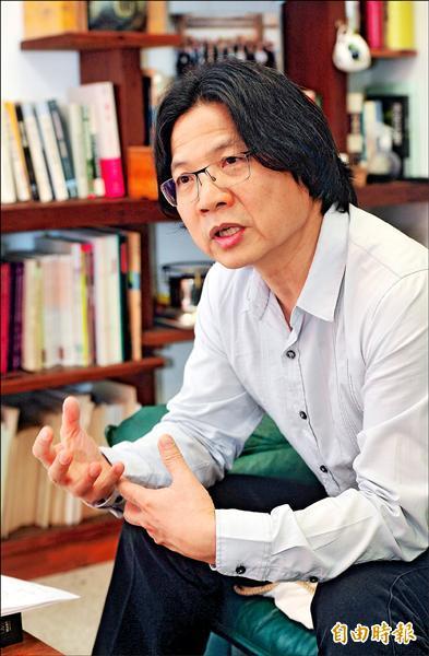 台大法律學院講座教授葉俊榮。(記者簡榮豐攝)