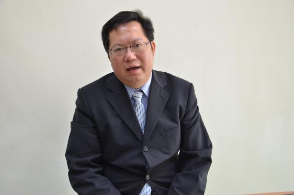 民進黨將在5月28日召開中執會,通過徵召鄭文燦代表民進黨參選桃園市長。(資料照,記者邱奕統攝)