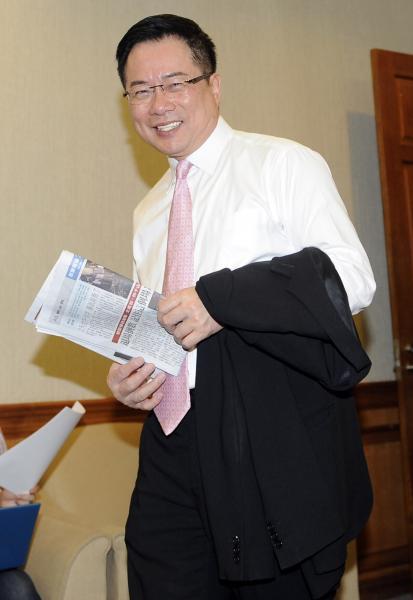 國民黨立委蔡正元因盜圖風波,再次引起網友撻伐。(資料照,記者陳志曲攝)