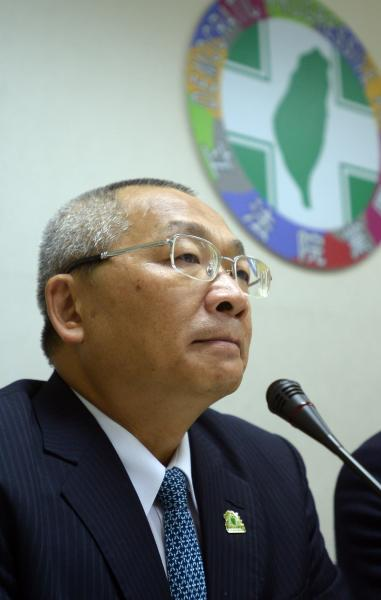 民進黨立委陳歐珀確定遭停權半年。(記者王藝菘攝)