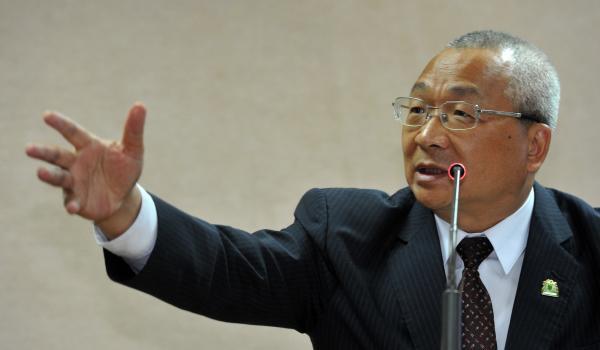 民進黨立委陳歐珀在立法院外交國防委員會質詢。(資料照,記者劉信德攝)