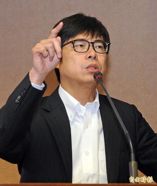 民進黨籍召委陳其邁。(資料照,記者王敏為攝)
