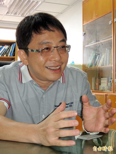 成大資通安全研發中心主任李忠憲(記者洪瑞琴攝)