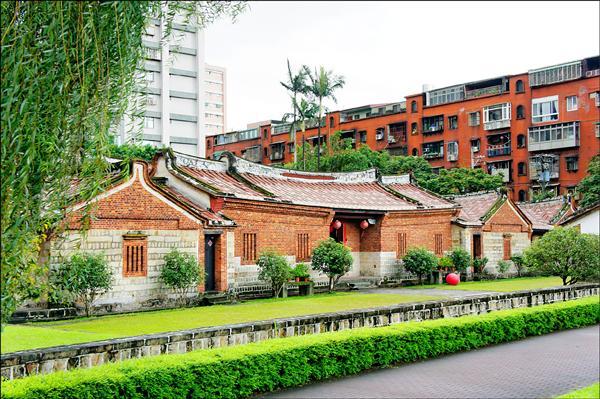 蘆洲三級古蹟「李氏古宅」為李友邦將軍故居。(資料照)