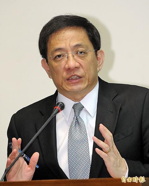 國發會主委管中閔。(資料照,記者方賓照攝)