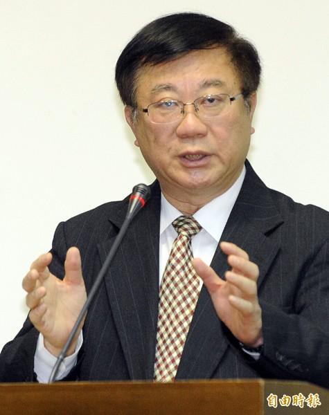 農委會主委陳保基。(資料照,記者陳志曲攝)