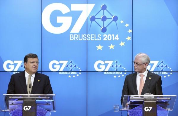 G7峰會今起在比利時舉行,討論全球經濟議題。(路透)