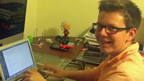 15歲的美國男孩芬曼用比特幣賺進了10萬美金,並用這筆錢開設了一間線上學習網站。(圖片取自businessinsider)