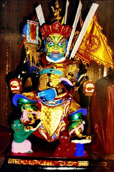 馬來西亞冥爺殿將從國外請來外國的大士爺神尊一同參與大士爺祭。(記者林宜樟翻攝)