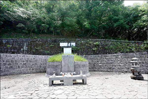 于右任墓園。(淡水古蹟博物館提供)