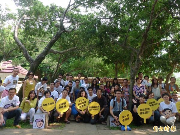 「2014台北街角遇見設計」2個月內有百場活動,為台北每個生活角落,灌滿不可思議的創意能量。(記者游蓓茹攝)