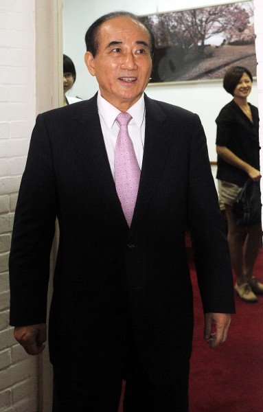 立法院長王金平。(資料照,記者朱沛雄攝)